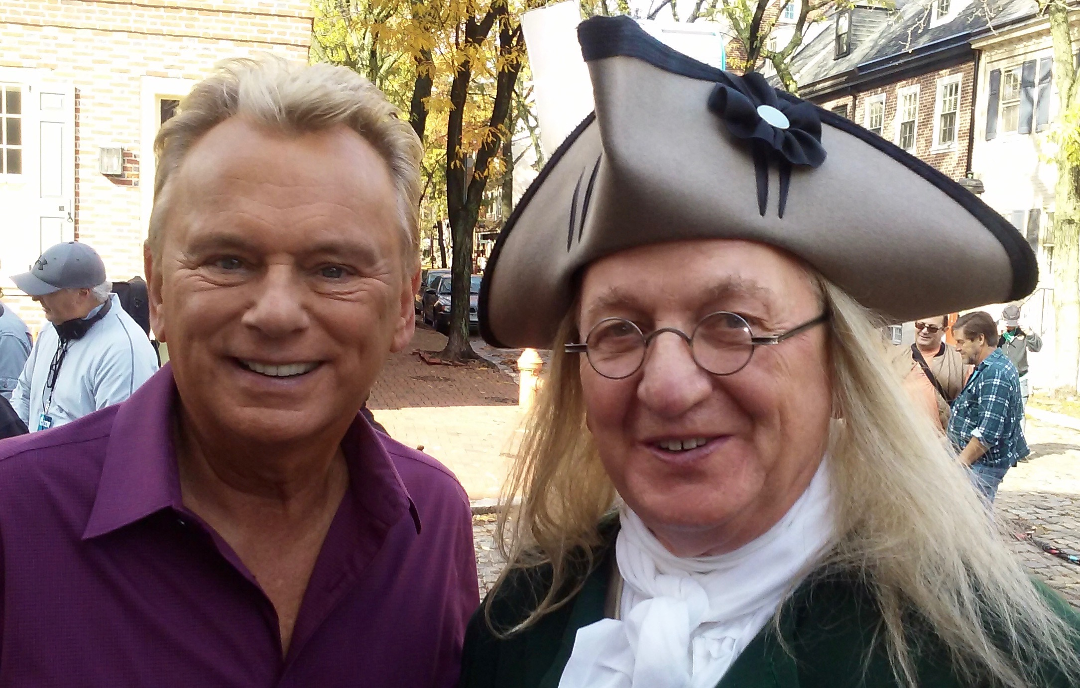 Bill Robling and Pat Sajak