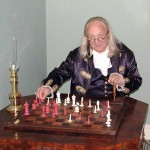 Ben Playing Chess - Sitting